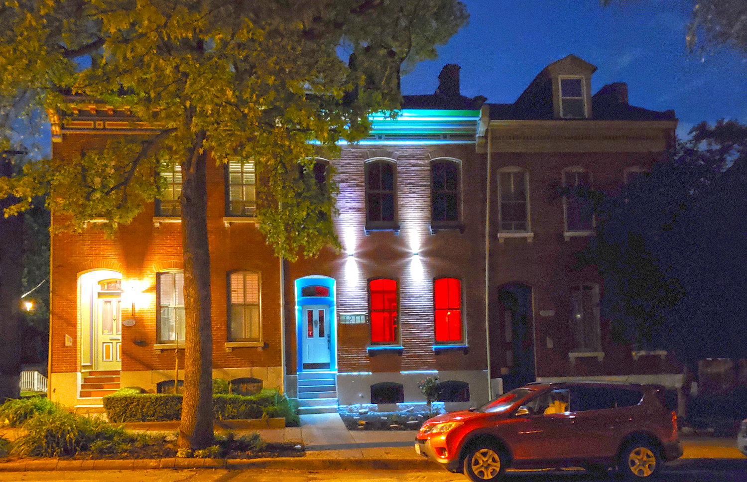 Lami Soulard House For Sale At Night
